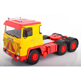 SCANIA LBT 1976 JAUNE/ROUGE