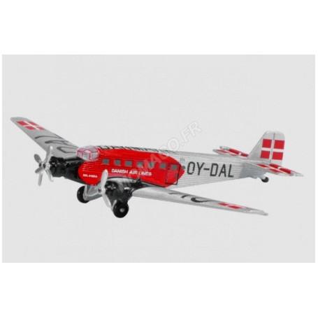 "JUNKERS JU 52 ""DDL - DANISH AIR-LINES"" (REG.OY-DAL)"