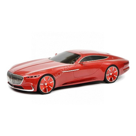 MERCEDES-BENZ MAYBACH VISION 6 COUPE ROUGE