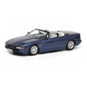 BMW 850I CABRIOLET BLEUE