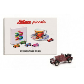 SET : MERCEDES-BENZ SSKL AVEC CATALOGUE COLLECTOR PICCOLO 1994-2016