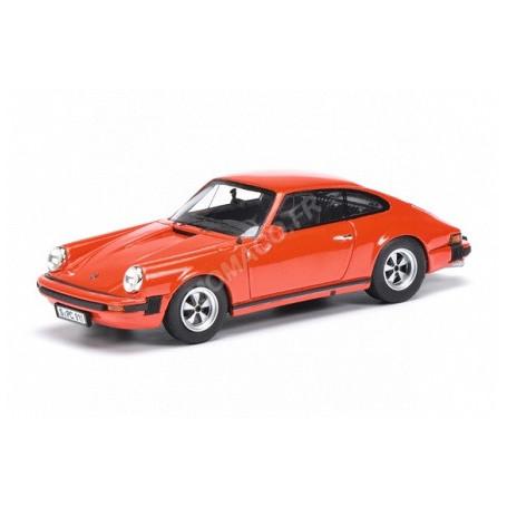 PORSCHE 911 COUPE 1975 ROUGE