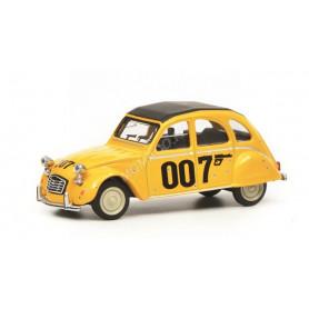 """CITROEN 2CV6 """"007"""" 1981 JAUNE"""