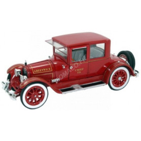 CADILLAC TYPE 57 VICTORIA COUPE-FIRE CHIEF 1918