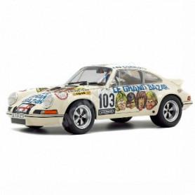 """PORSCHE 911 RSR 2.7 103 """"LE GRAND BAZAR"""" 1973"""