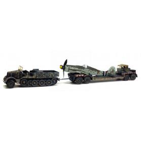 FAMO ET AH116 AVEC MESSERSCHITT 109 GERMANY 1945