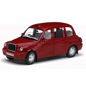 "TAXI CAB TX1 ""LONDRES"" 1998 ROUGE (EPUISE)"