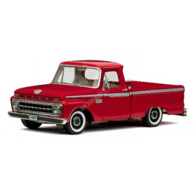 FORD F100 PICK UP 1965 ROUGE