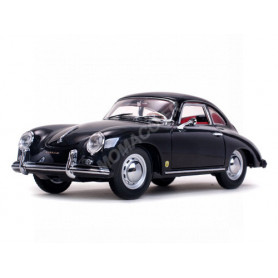 PORSCHE 356A 1500GS CARRERA GT COUPE 1957 NOIR