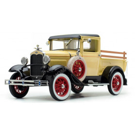 FORD MODEL A 1931 PICK UP JAUNE (EPUISE)