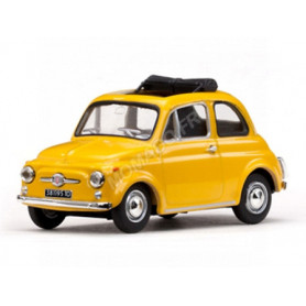 FIAT 500F 1965 JAUNE (REFABRICATION)
