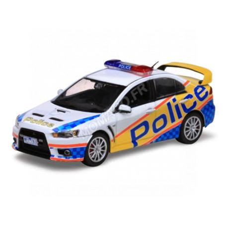 MITSUBISHI LANCER EVOLUTION X POLICE AUSTRALIE (EPUISE)