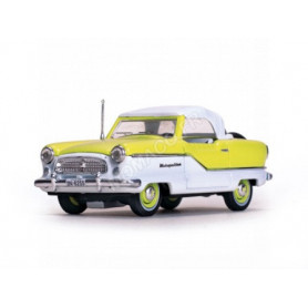 NASH METROPOLITAIN COUPE 1959 BLANC/JAUNE