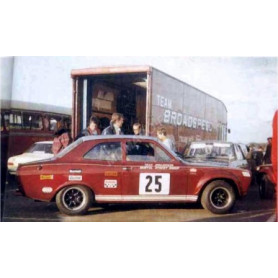 FORD ESCORT MKI RS1600 25 CRAFT BRITISH SALOON CAR CHAMPIONSHIP 1968