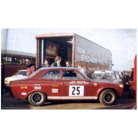 FORD ESCORT MKI RS1600 25 CRAFT BRITISH SALOON CAR CHAMPIONSHIP 1968
