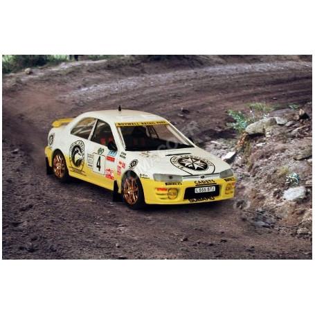 SUBARU IMPREZA 4X4 TURBO 4 MOORE/COOK RALLYE MANX 1995 1ER