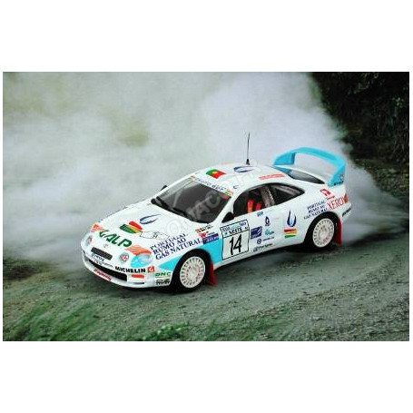 """TOYOTA CELICA GT4 """"GAS DE PORTUGAL"""" 14 MADEIRA/SILVA RALLYE 1000 LAKES 1996"""