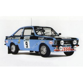 FORD ESCORT MKII 9 CLARK/WILSON RALLYE RAC 1978