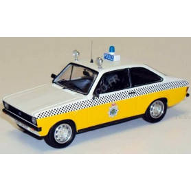 FORD ESCORT MKII POLICE STAFFORDSHIRE 1980 (EPUISE)