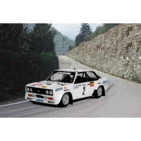 FIAT 131 ABARTH 2 ANDRUET/BICHE RALLYE MONTE CARLO 1977 2EME