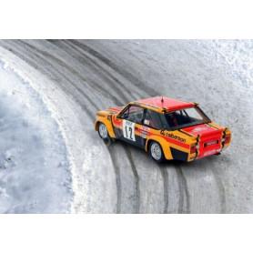FIAT 131 ABARTH 12 MOUTON/ARRII RALLYE MONTE CARLO 1980 7EME