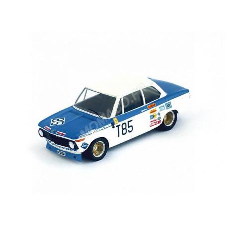 BMW 2002 T85 TI KELLENERS/PILETTE 1000KM DE NURBURGRING 1973 1ER T2