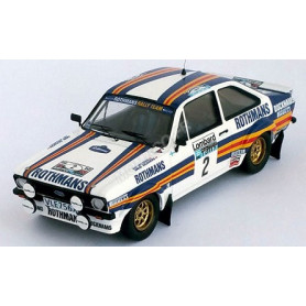 FORD ESCORT MKII 2 VATANEN/RICHARDS RALLYE RAC 1981
