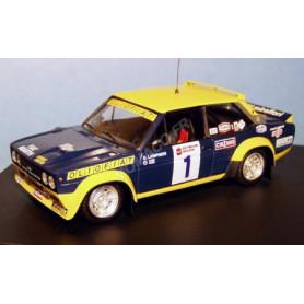 FIAT 131 ABARTH 1 LAMPINEN/ANDREASSON RALLYE CANADA 1977 2EME