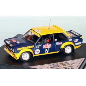 FIAT 131 ABARTH 7 VERINI/RUSSO RALLYE SAN REMO 1977 2EME