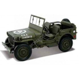 """JEEP WILLYS """"US ARMY"""" 1944 OUVERTE"""