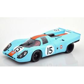 """PORSCHE 917K """"GULF"""" 15 RODRIGUEZ/KINNUNEN/SIFFERT 12H SEBRING 1970"""