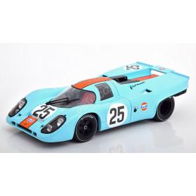 "PORSCHE 917K ""GULF"" 25 RODRIGUEZ/KINNUNEN 1000KM SPA 1970"