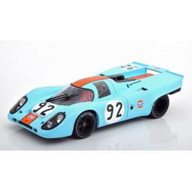 """PORSCHE 917K """"GULF"""" 92 VAN LENNEP CAN-AM WATKINS GLEN 1971"""
