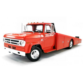 DODGE D300 CAMION PLATEAU 1970 ORANGE