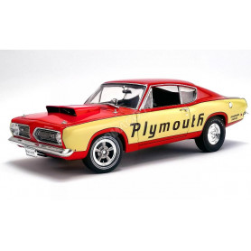 "PLYMOUTH BARRACUDA SUPER STOCK ""PLYMOUTH ""1968"