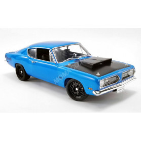 """PLYMOUTH BARRACUDA 1969 """"STREET FIGHTER"""" BLEUE"""