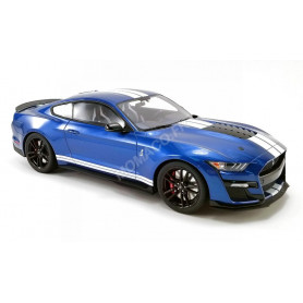 FORD MUSTANG SHELBY GT500 2020 PERFORMANCE BLEUE