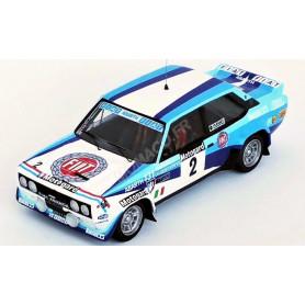 FIAT 131 MIRAFIORI ABARTH 2 ROHRL/GEISTDORFER RALLYE DE NOUVELLE ZELANDE 1980 2EME