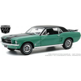 """FORD MUSTANG COUPE """"SKI COUNTRY SPECIAL"""" 1967 LOVELAND GREEN (EPUISE)"""