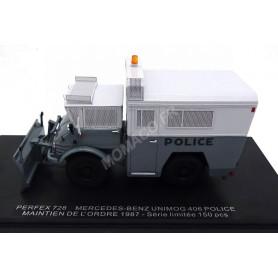 MERCEDES-BENZ UNIMOG 406 MAINTIEN DE L'ORDRE 1987 POLICE GRIS (EPUISE)