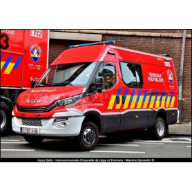 IVECO DAILY POMPIERS VEHICULE POLYVALENT