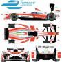 "FORMULE E ""MAHINDRA"" 23 NICK HEIDFELD FIA FORMULE E CHAMPIONSHIP 2016-2017"