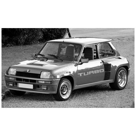 RENAULT 5 TURBO 1 1982 BLEU