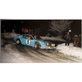 RENAULT ALPINE A310 5 THERIER/VIAL RALLYE MONTE CARLO 1975