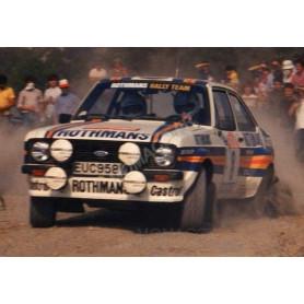 FORD ESCORT MKII RS1800 8 MIKKOLA/HERTZ RALLYE SAN REMO 1980