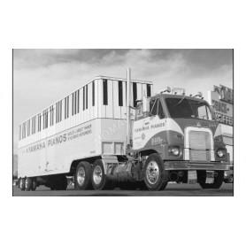 YAMAHA INTERNATIONAL HARVESTER DCOF-405 1959 ROUGE/JAUNE