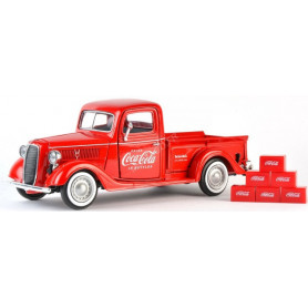 "FORD A PICK UP ""COCA-COLA"" 1934 AVEC 6 CARTONS"