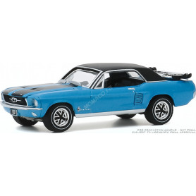 """FORD MUSTANG COUPE """"SKI COUNTRY SPECIAL"""" 1967 VAIL BLEUE"""