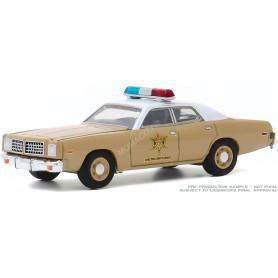 """DODGE CORONET """"CHOCTAW COUNTY SHERIFF"""" 1975 (EPUISE)"""