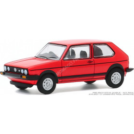 VOLKSWAGEN GOLF GTI 1982 ROUGE